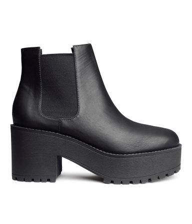 H&m platform boots £34.99