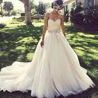 dress white dress strapless dress