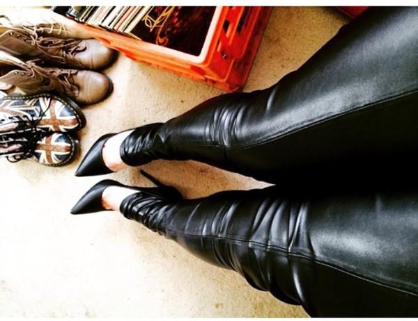 shoes black heels high heel pumps