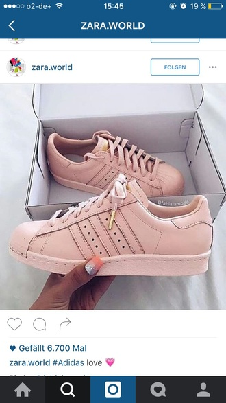 shoes adidas nude