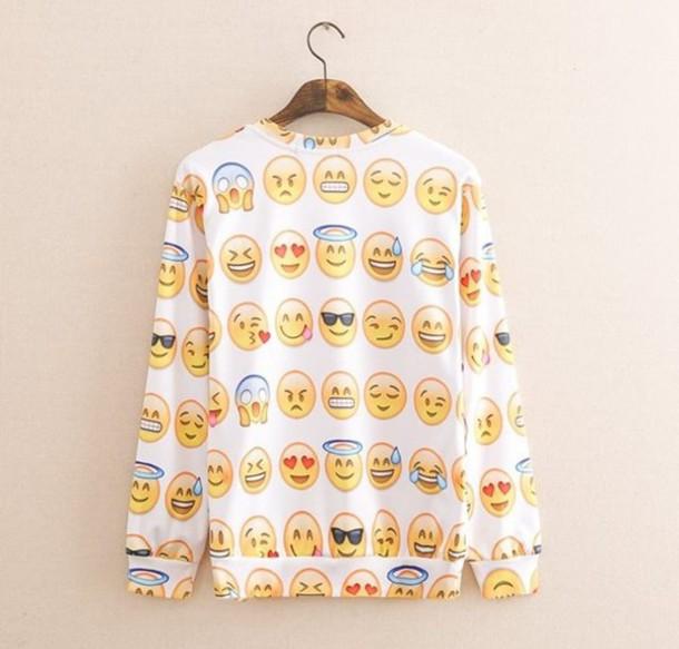 t-shirt maham's emoji print emoji $
