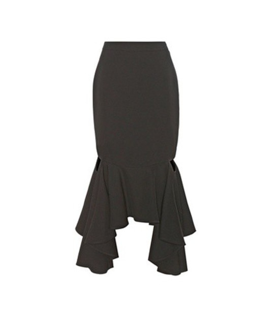 Givenchy skirt wool black