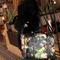 Lady vintage rivet stud oil painting envelope floral clutch handbag shoulder bag | ebay
