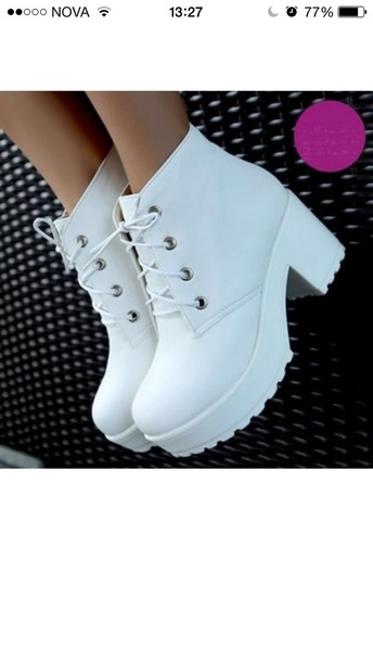 white shoes chunky boots chunky grunge shoes 90s style white boots shoes white grunge shoes platform boots platform shoes platform heels platform lace up boots grunge boots white heels white platforms black heel boots lace up boots grunge cute ankle boots creepers heel boots chuncky heels fashion classy high heels cute high heels heel boots girly mid heel boots sneakers