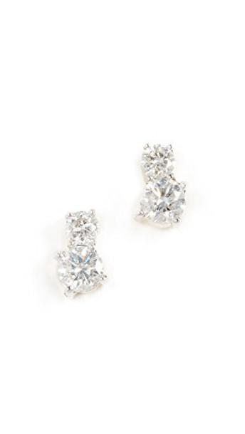 Adina Reyter earrings gold yellow jewels