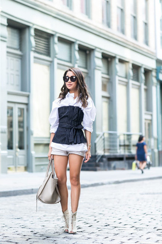 wendy's lookbook blogger top shirt bag shoes sunglasses jewels