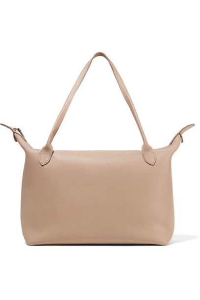 The Row satchel leather bag