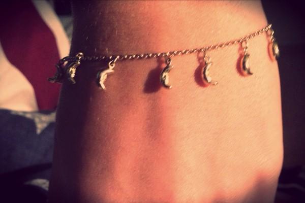 jewels bracelets moon moon bracelet grunge