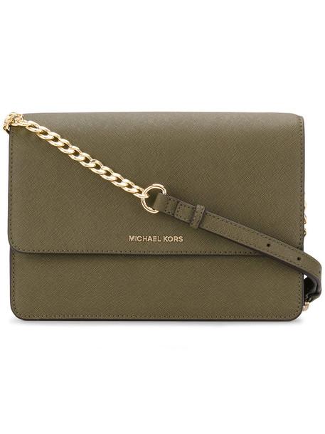 MICHAEL Michael Kors women bag crossbody bag leather green