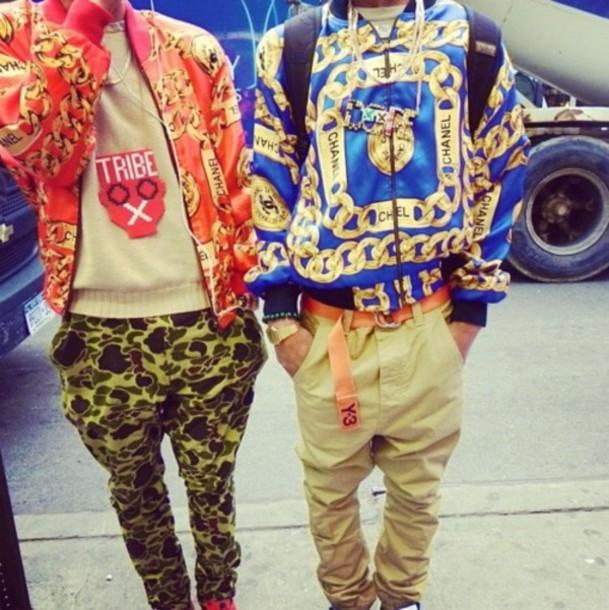 Jacket: 90s style, chanel style jacket, chanel ...