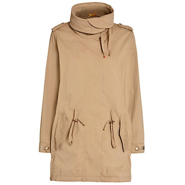 jacket boss orange olbina parka parka beige parka beige