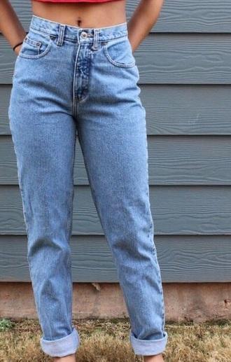 jeans vintage mom jeans