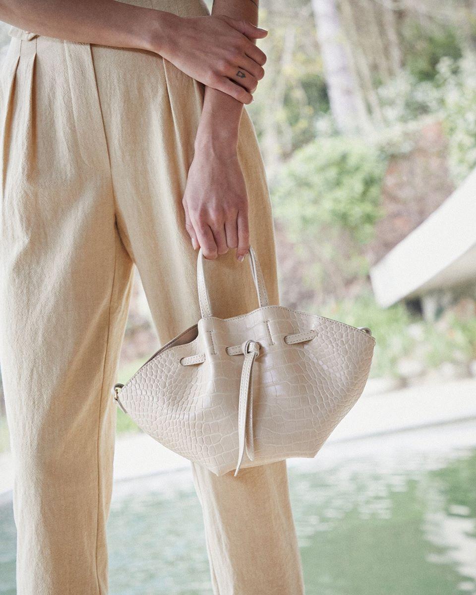 MINI LYNNE - Convertible bag with drawsting