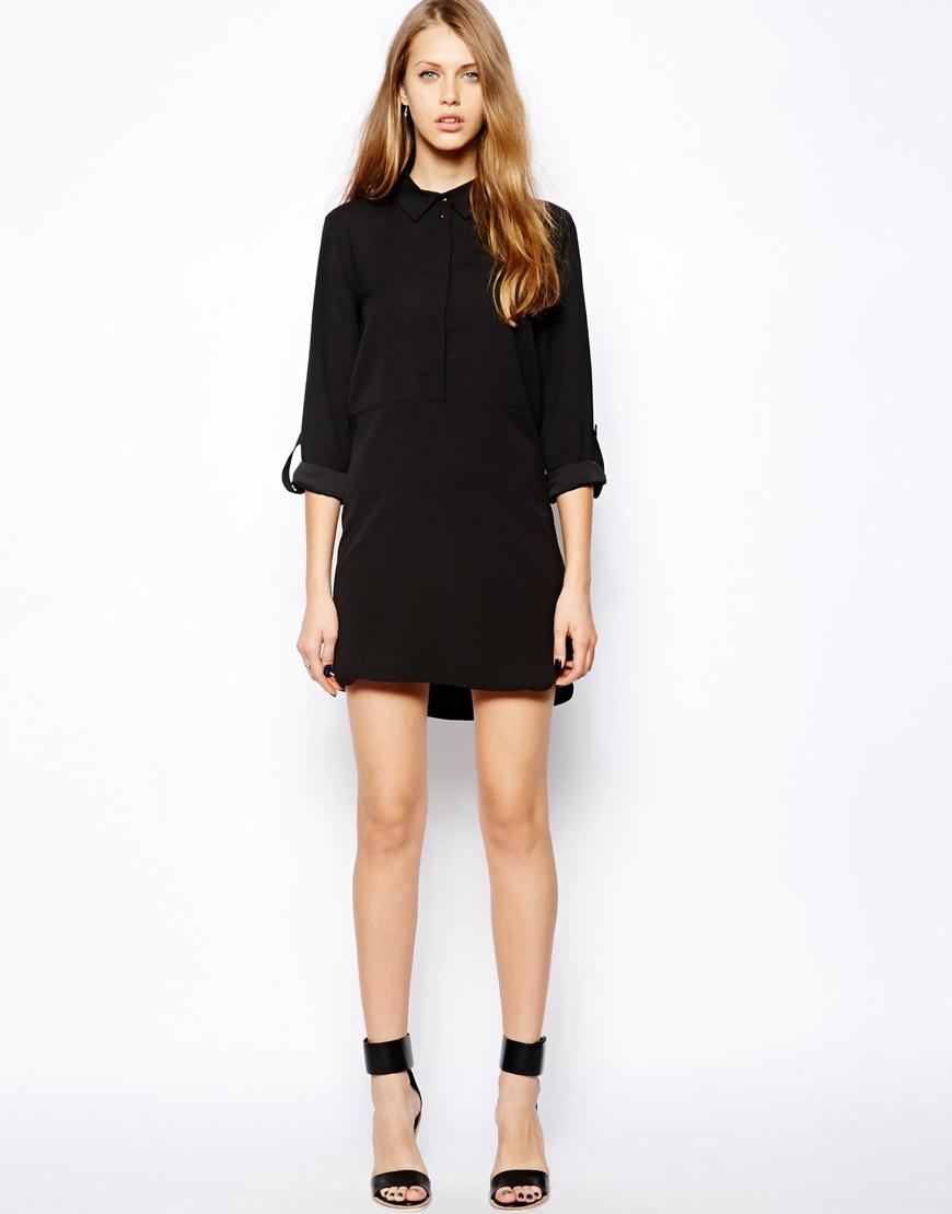 Mango Shirt Dress at asos.com