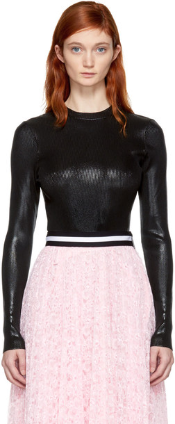 CHRISTOPHER KANE jumper black sweater