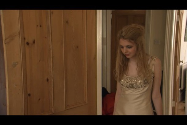 dress hannah murray skins cassie sequins