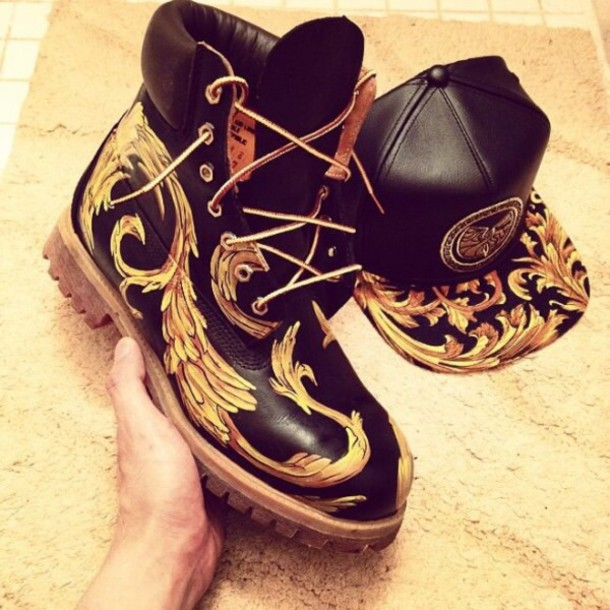 shoes timberlands boots supreme hat