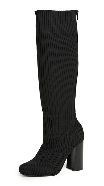 Jeffrey Campbell Expert Tall Boots in black