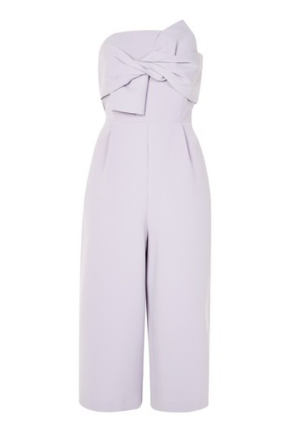 Topshop jumpsuit light grey