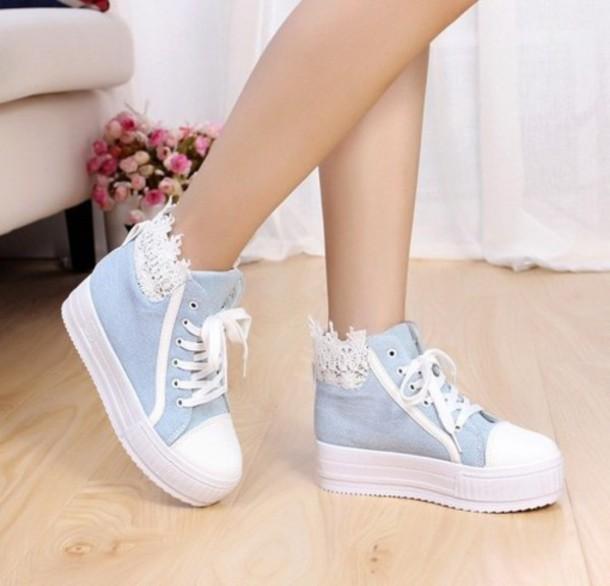 shoes denim shoes denim platform shoes