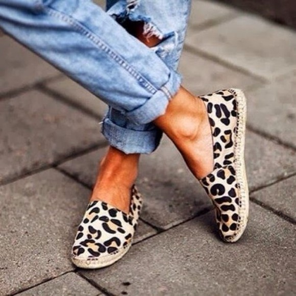leopard print shoes toms