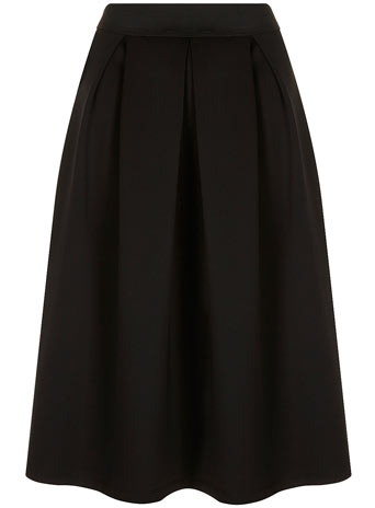 Luxe Black Scuba Skirt - View All Clothing Brands  - Brands - Dorothy Perkins