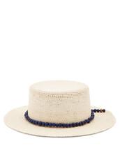 beaded,hat,straw hat,beige