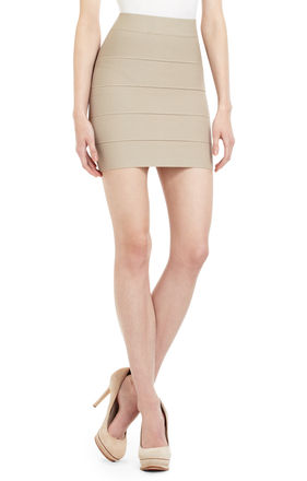 Simone Textured Power Skirt | BCBG