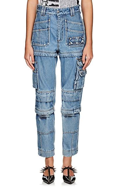 Balenciaga Convertible Cargo Jeans | Barneys New York