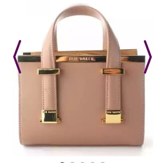bag peach ted baker