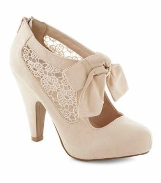 shoes lace cream lace shoes wedding shoes