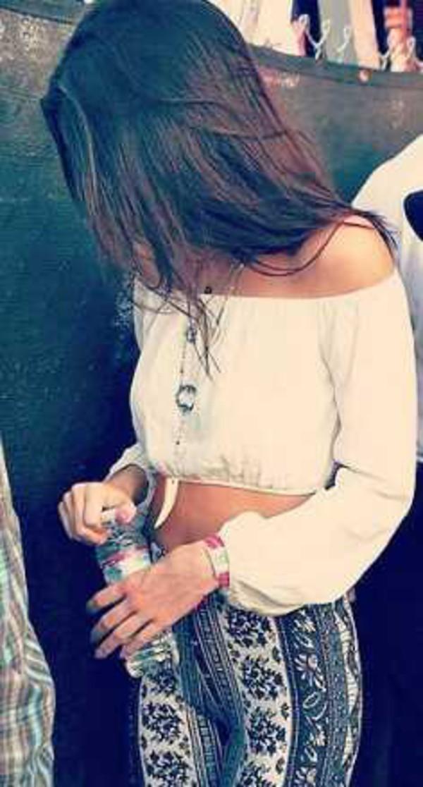 blouse kendall jenner long sleeves