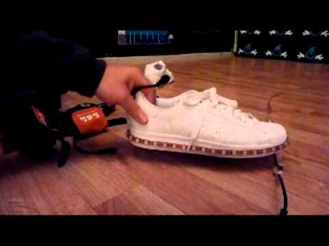 Liquidemotions.com Lu-Me-Light Shoe Tutorial! - YouTube
