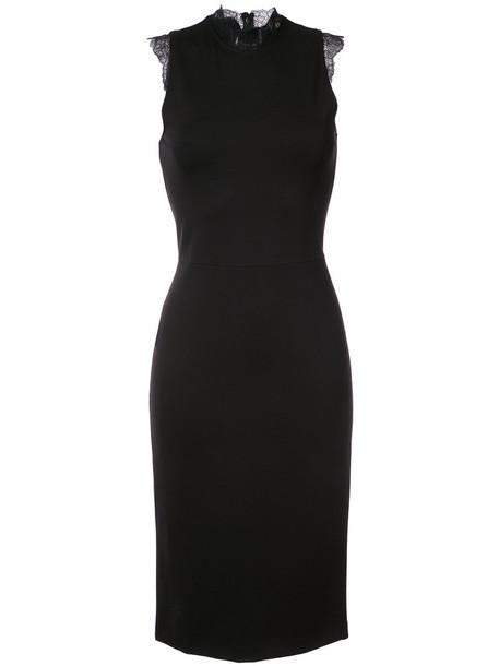 Amanda Uprichard dress bodycon bodycon dress women spandex lace black