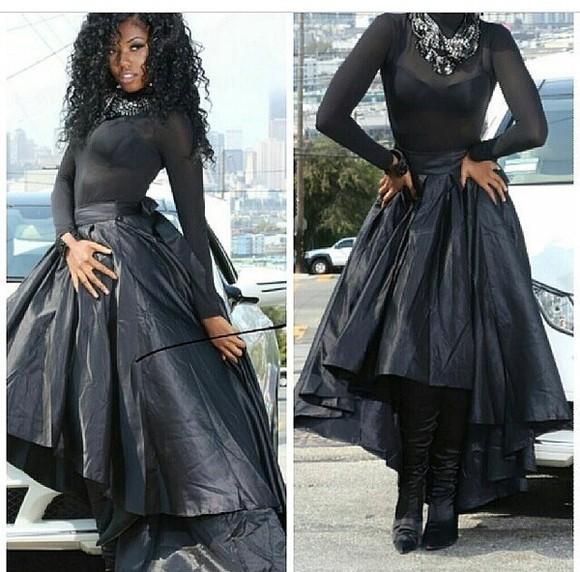 black oversized