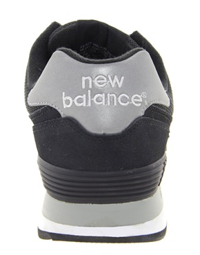 New Balance | New Balance 574 Black Sneakers at ASOS