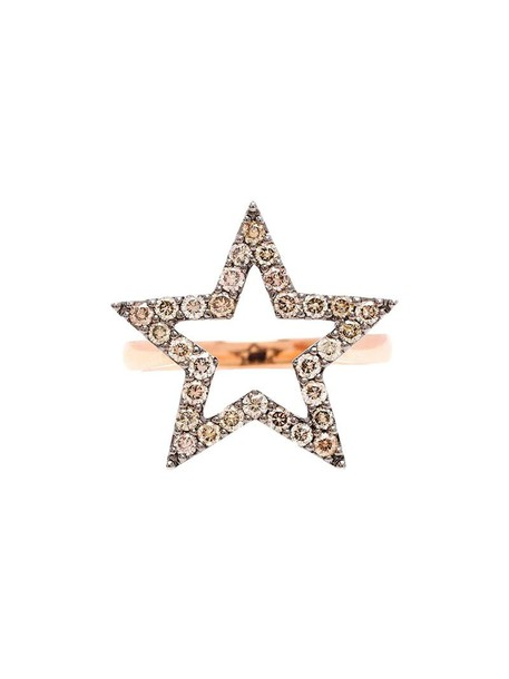 ROSA DE LA CRUZ women ring gold purple pink jewels