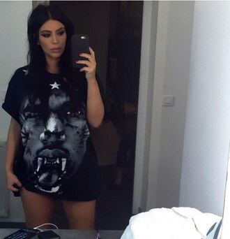 t-shirt top instagram kim kardashian