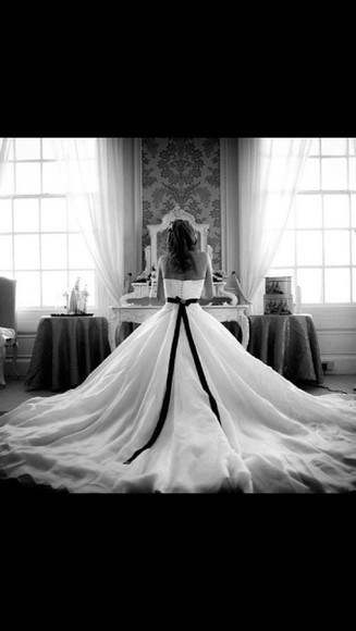 wedding dress wedding dress lace black and white dress beautiful dress