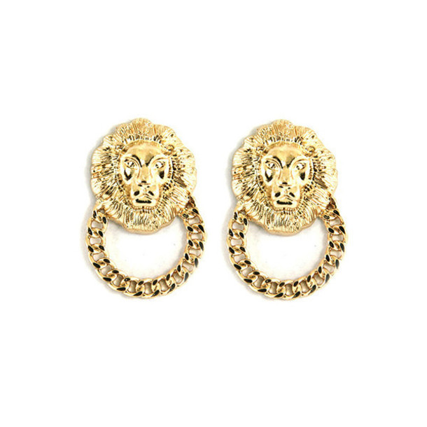 jewels lion lion head gold sway