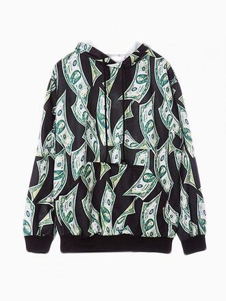 sweater dollar crew sweater shirt oversize