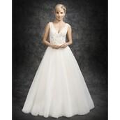 dress,prom dresses on sale,madame de rosa,wedding dress,prom dress,ivory ella