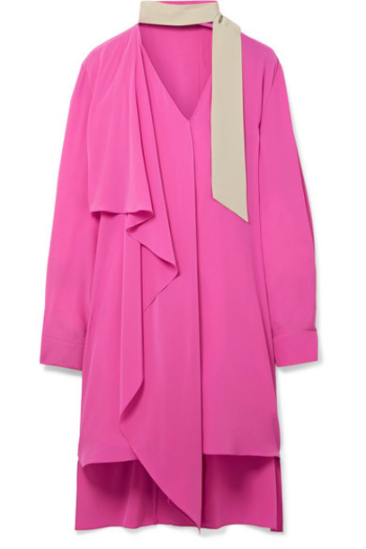 Fendi dress oversized silk