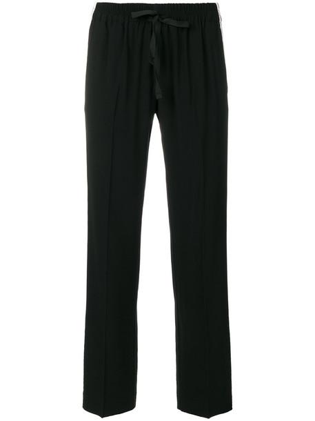 Zadig & Voltaire pants track pants women spandex black