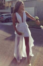 dress,formal dress,white,maxi,cut-out,drape,prom,evening outfits,elegant,formal,white dress,pretty,long,short,graduation dresses,mesh,roman style,greek style,prom dress,halter dress,floor length