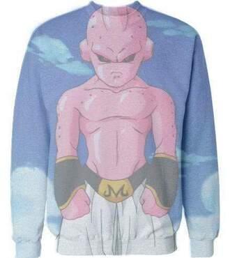 sweater dragon ball z crewneck