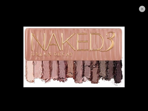 nail polish naked 3 eye shadow naked 3 pallette urban decay nude