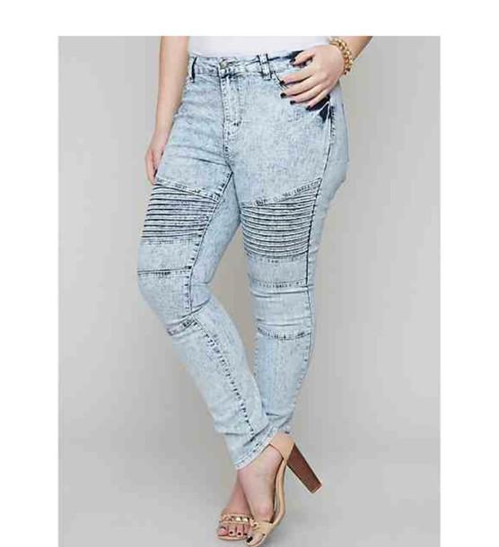 jeans motto balmain fake real blue denim plus size