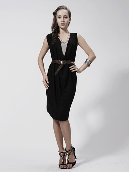 dress deep v neck