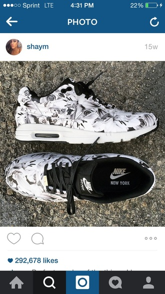 shoes nike floral cute print nike air max 90 nike air mx